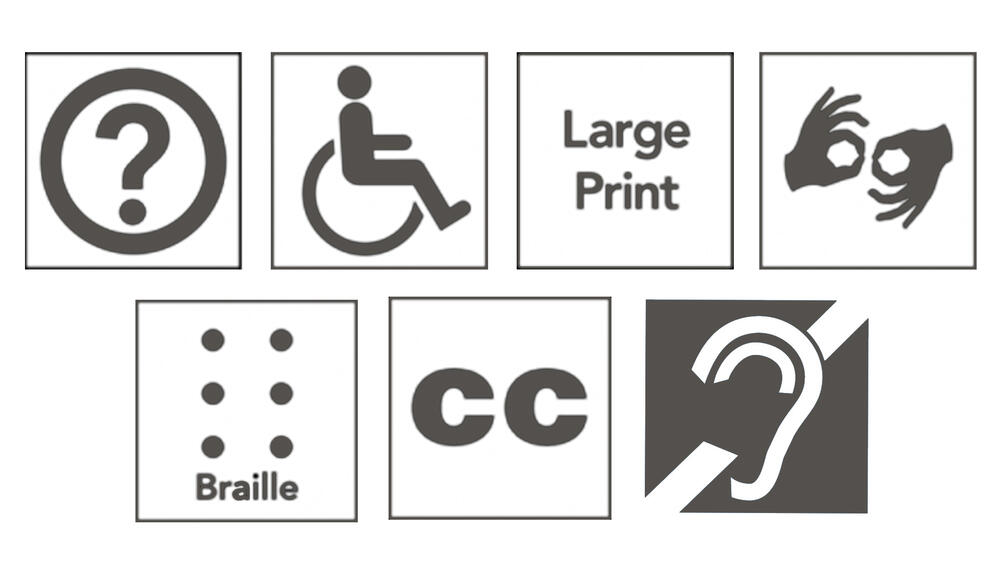The Kimbell offers services for those with limited mobility, low vision, and hearing loss.