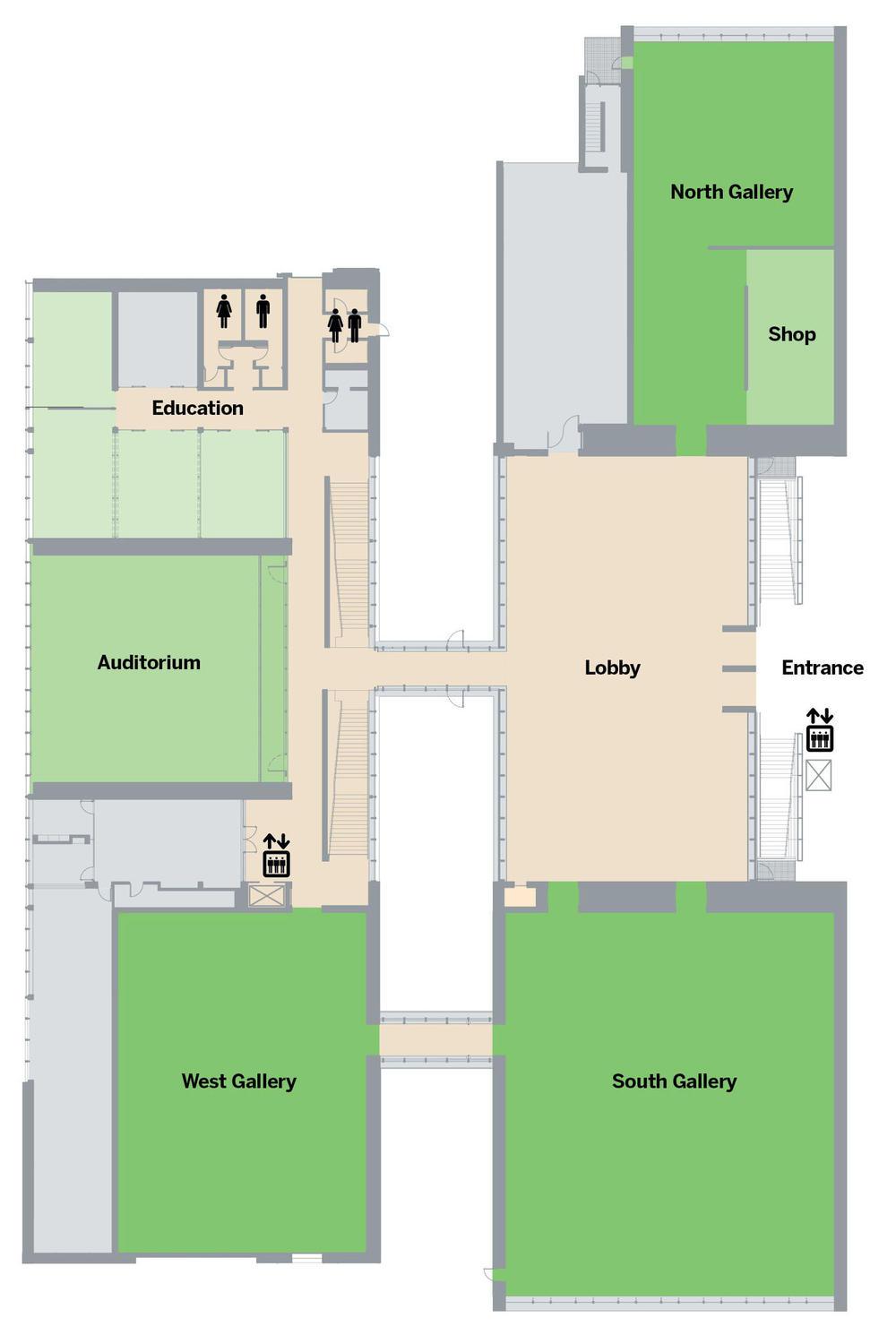 Floor Plans Kimbell Art Museum