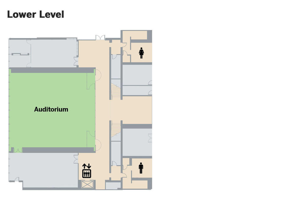 Piano Pavilion floor plan