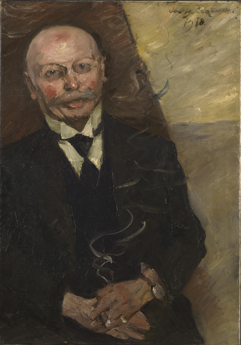 Portrait of the Art Dealer Heinrich Thannhauser
