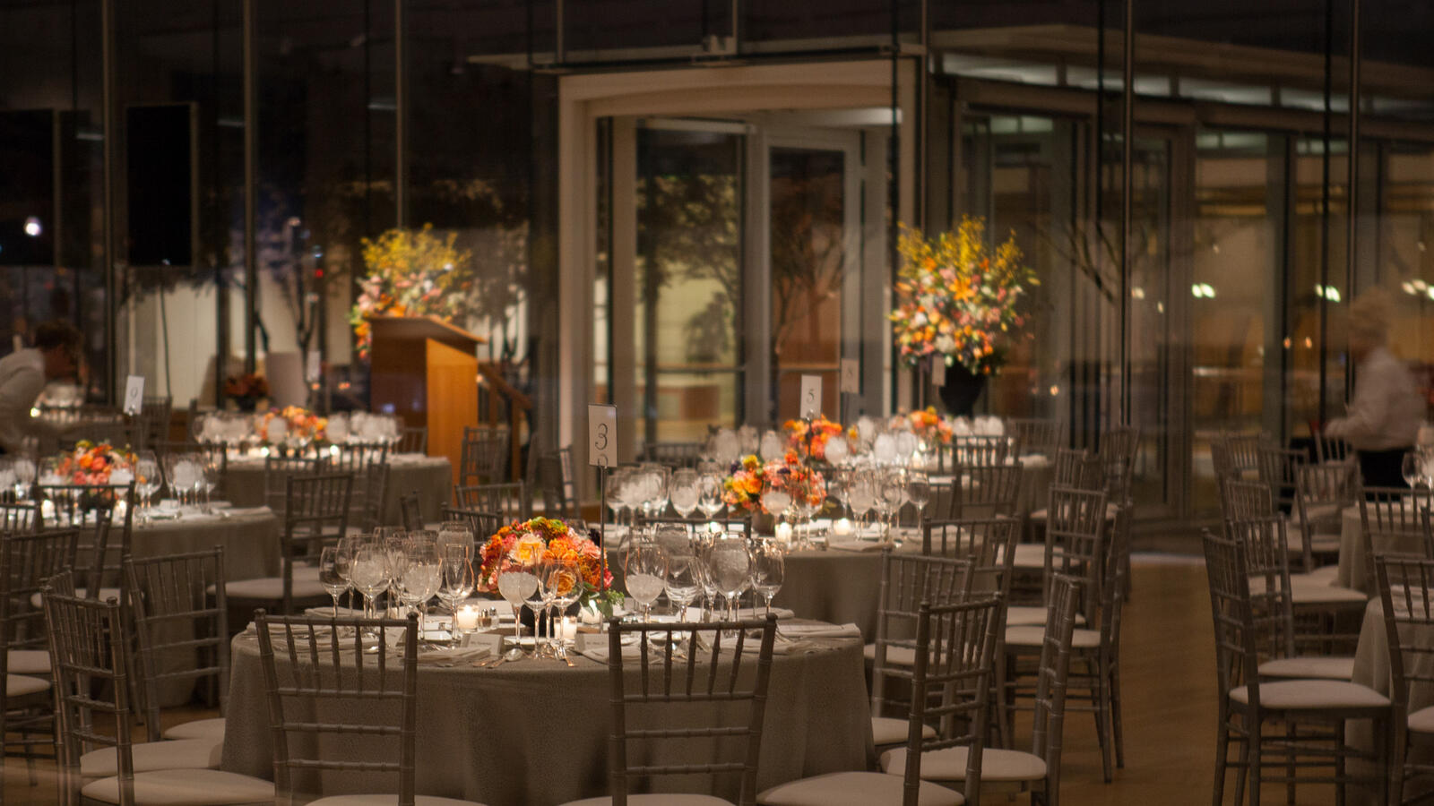 Rentals for dinners and events