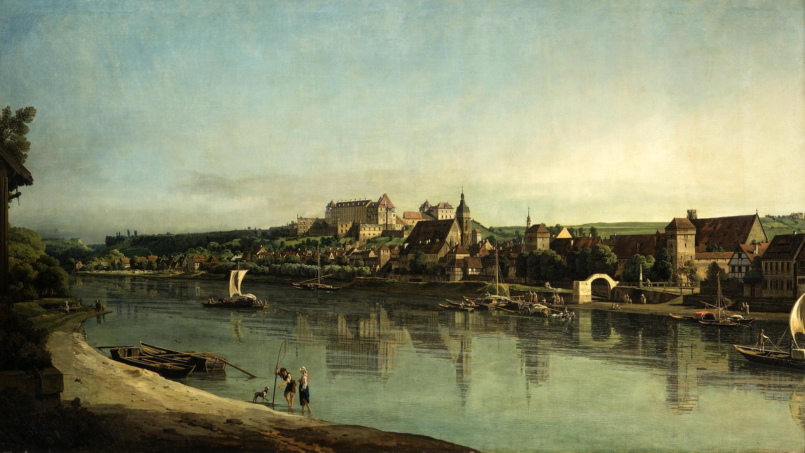 "Bellotto, ""Pirna Viewed from Copitz"""