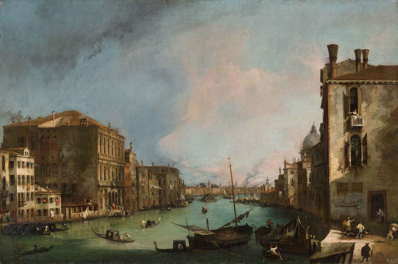 "Canaletto, ""The Canal Grande in Venice"""