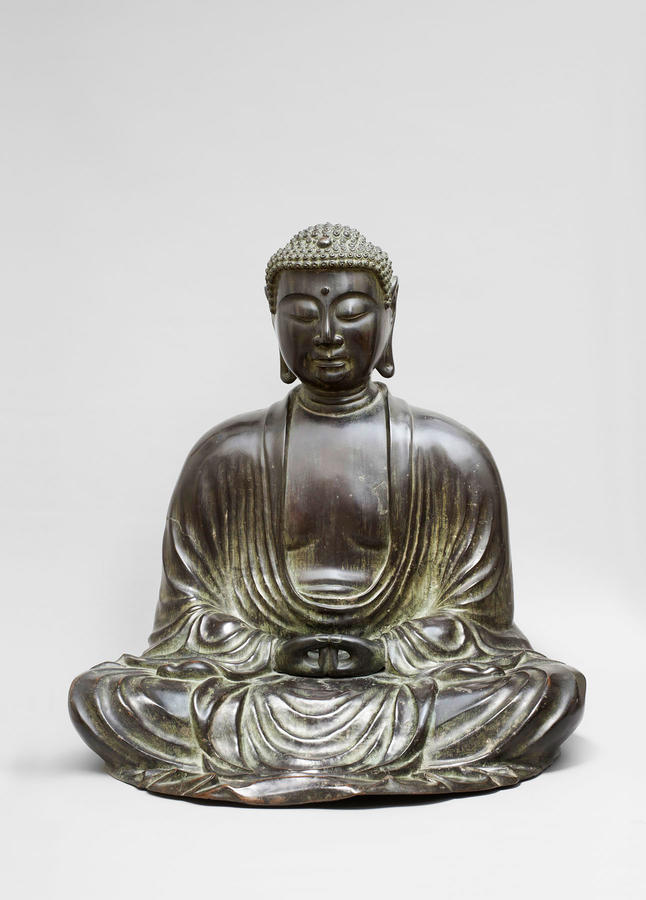 Amida Buddha, Japan, Kamakura period, 1185–1333, Bronze, The Sam and Myrna Myers Collection, Photo by Thierry Ollivier