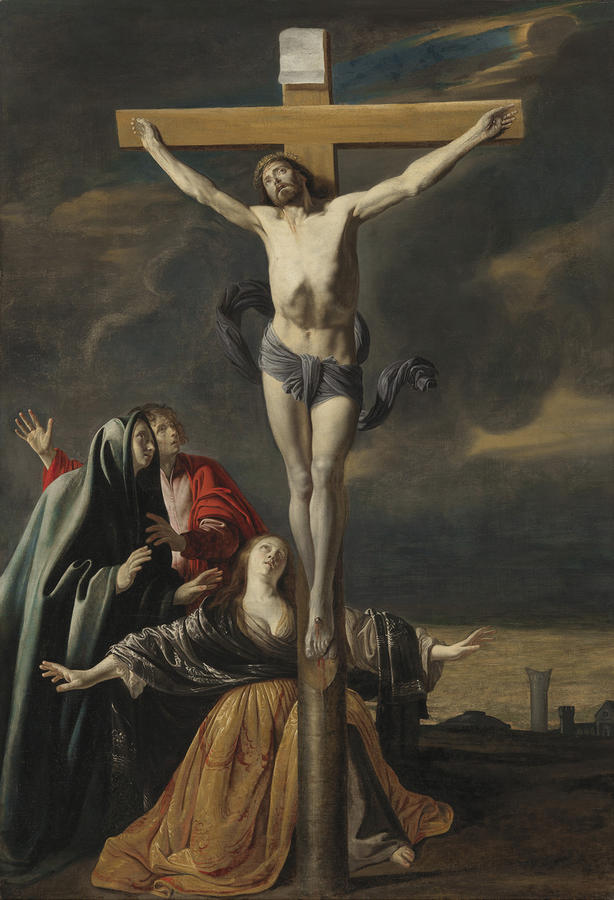 Le Nain, The Crucifixion, c. 1645–50, Oil on canvas, 60 1/4 x 41 3/4 in. (153 x 106 cm), Museum of Fine Arts, Boston. M. Theresa B. Hopkins Fund