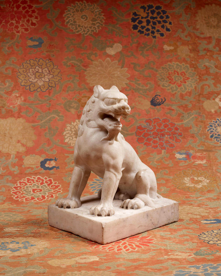 Lion, China, Tang dynasty, 618–907, Marble, The Sam and Myrna Myers Collection, Photo by Thierry Ollivier