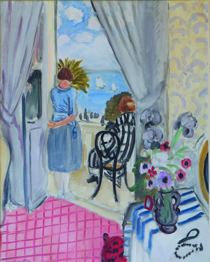 Henri Matisse, The Regattas in Nice, 1921, Oil on canvas, 31 1/2 × 25 in. (80 × 63.5 cm), Collection of Nancy Lee and Perry R. Bass, Fort Worth, © 2015 Succession H. Matisse / Artists Rights Society (ARS), New York