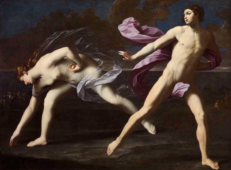 "Guido Reni, ""Atalanta and Hippomenes,"" c. 1620–25, oil on canvas"