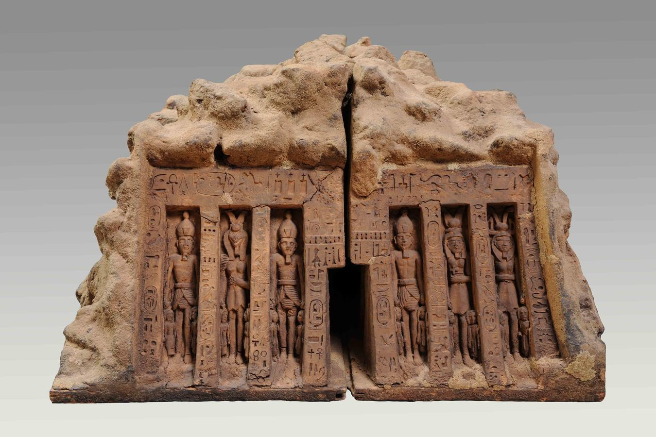 Model of the Lesser Temple of Abu Simbel