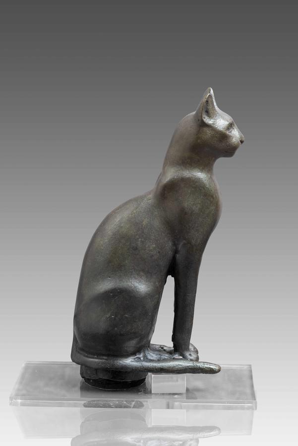 Votive Statue of a Cat