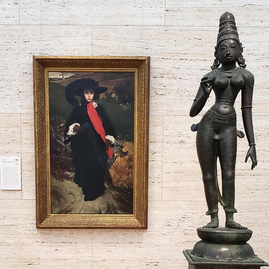 Portrait of May Sartoris and Parvati
