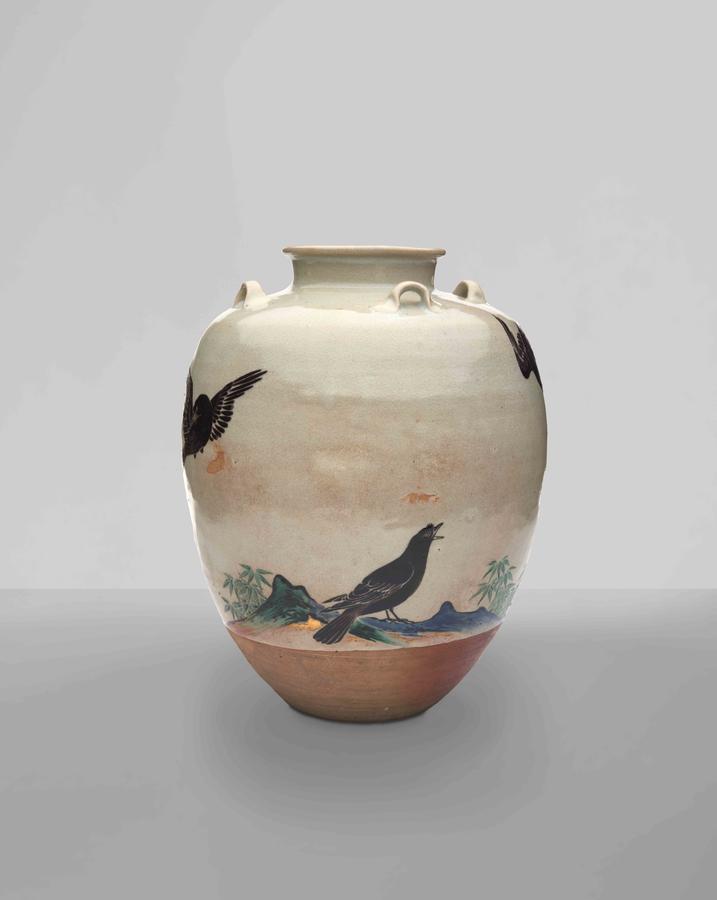 Tea Leaf Jar