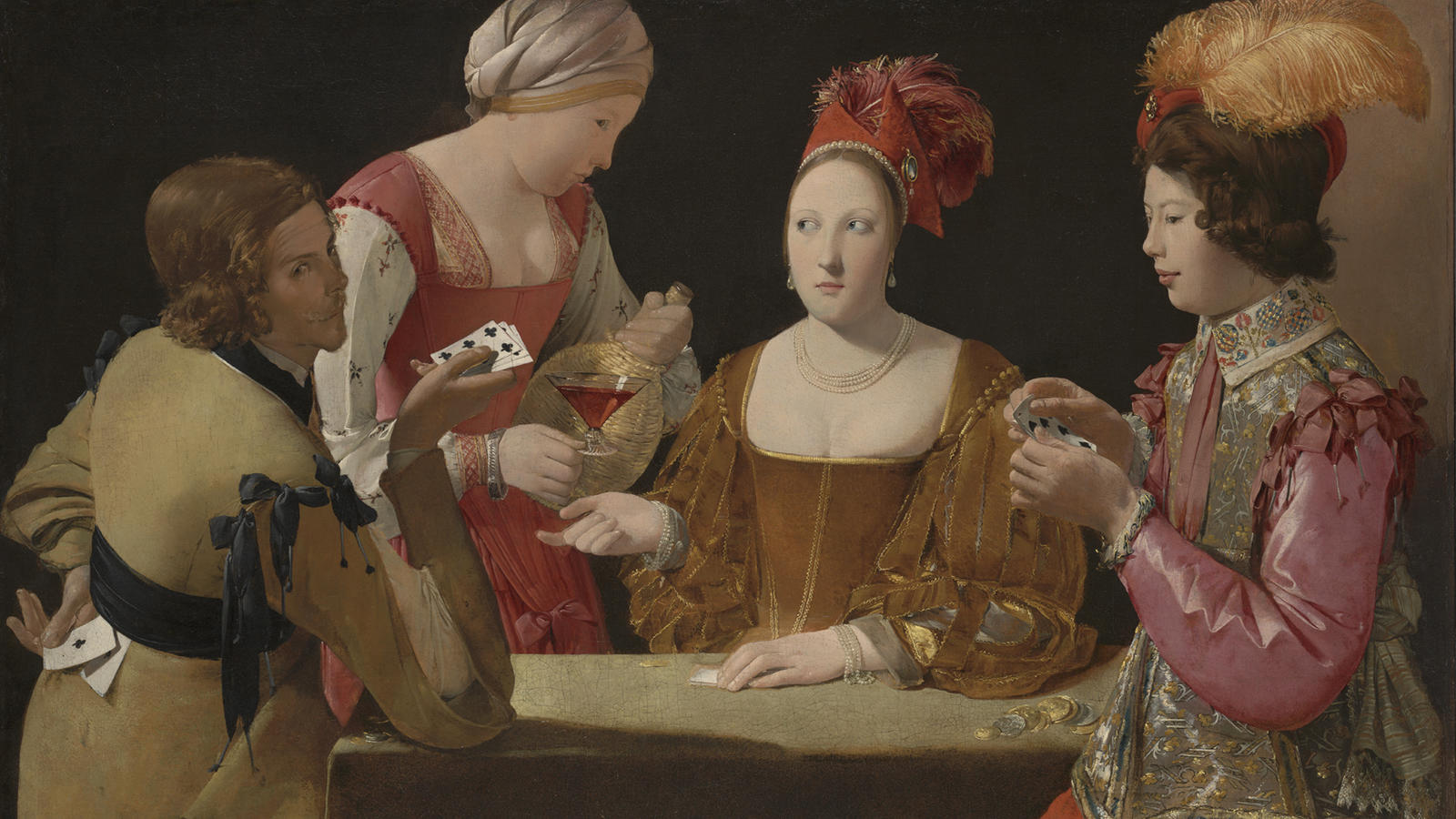 "Georges de Le Tour's ""Cheat with the Ace of Clubs"""