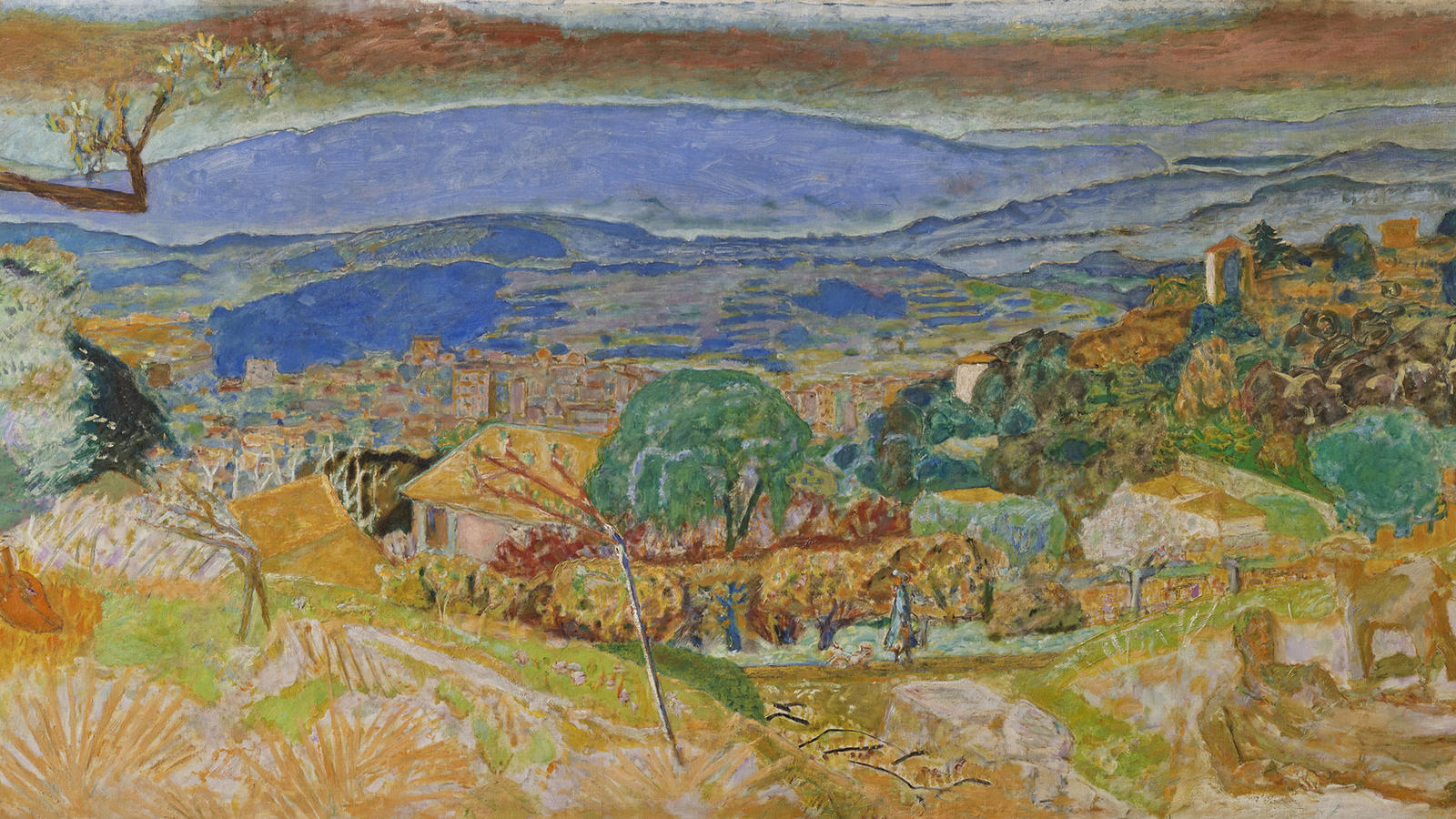 "Bonnard, ""Landscape at Le Cannet"""