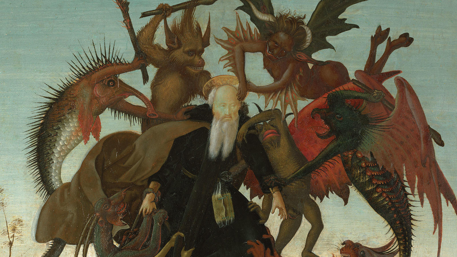 "Michelangelo, ""Torment of Saint Anthony"""