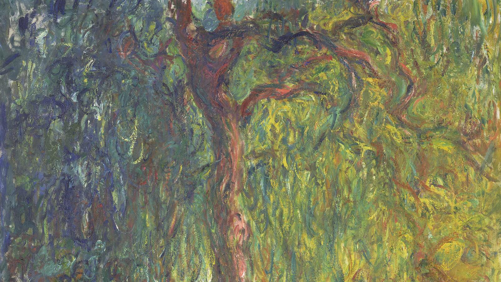 "Monet, ""Weeping Willow"""