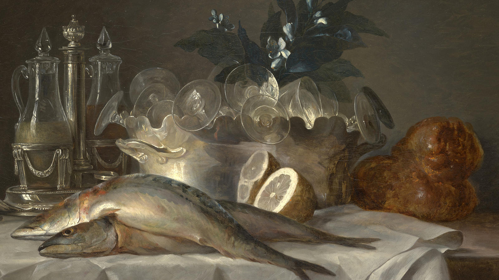 "Coster, ""Still Life with Mackerel"""