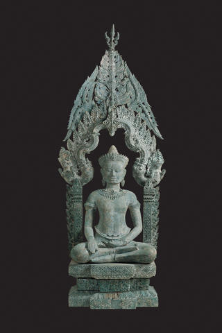 Buddha Enthroned