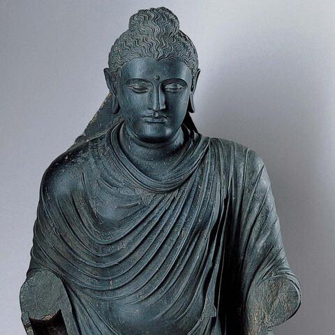 Standing Buddha Kimbell Art Museum