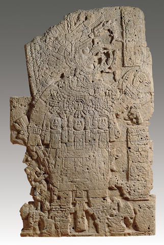 Stela with a Ruler