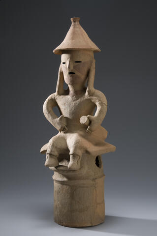 Haniwa Seated Man