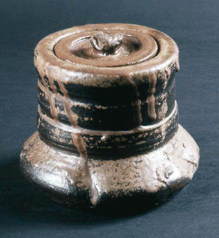 Water Jar (Mizusashi) with Cover