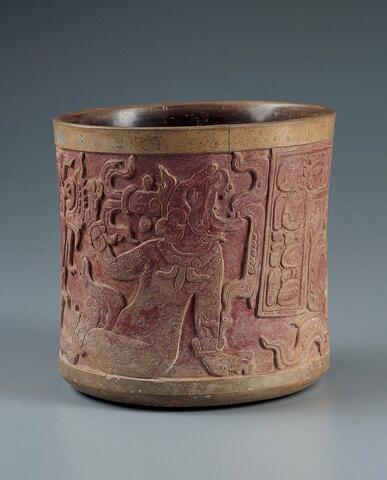 Vessel with Two Gods before a Mountain