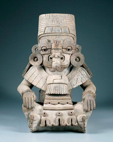 Urn in the Form of Cociyo, God of Lightning and Rain