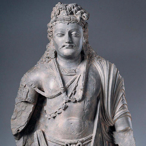 Standing Bodhisattva Kimbell Art Museum