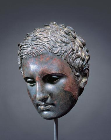 Head of an Athlete (Apoxyomenos)