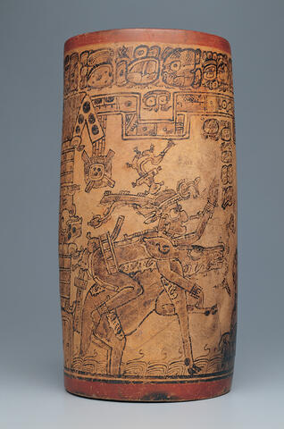 Vessel with a Mythological Frieze