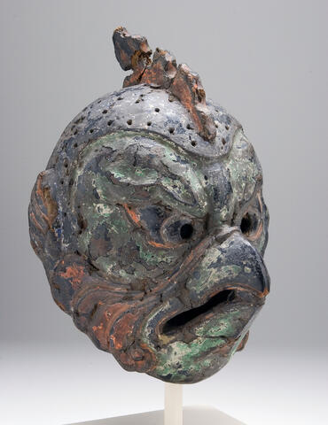 Gigaku Mask of the Karura Type