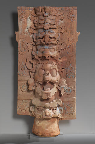 Censer Stand with the Head of the Jaguar God of the Underworld