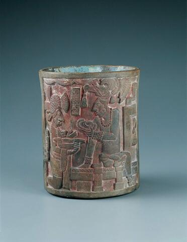 Vessel with Ceremonial Scene
