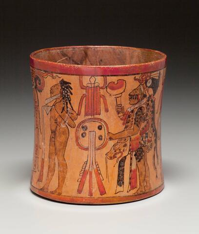 Vessel with a Procession of Warriors