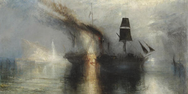 Header: Turner Peace Burial at Sea