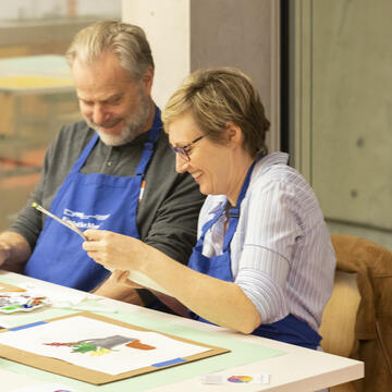 Header: Adults Painting