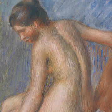 "Header: Renoir, ""Nude in an Armchair"""