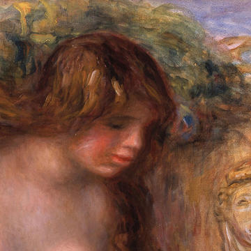 Header: Renoir The Spring (La Source)