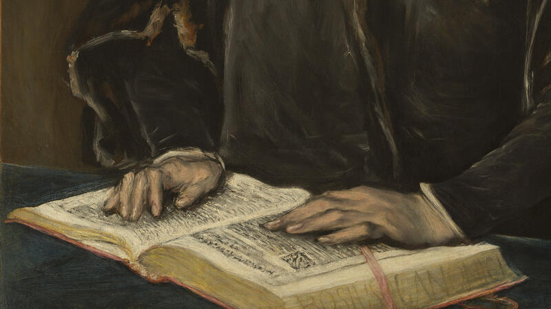 El Greco, Portrait of Dr. Francisco de Pisa (detail)